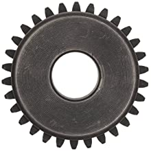 Martin Spur Gear, 20 Pressure Angle, High Carbon Steel, Inch, 4 Pitch