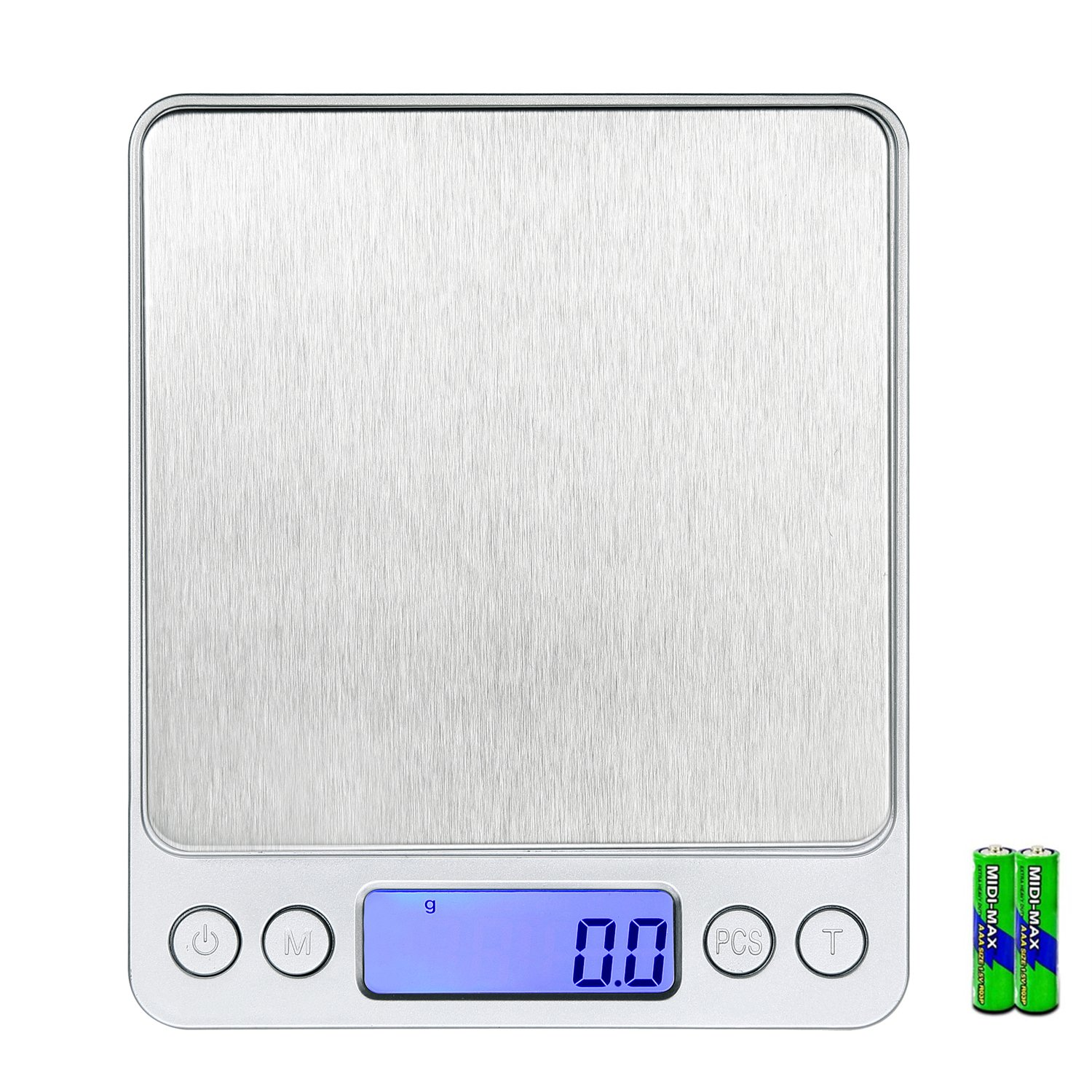 WAOAW Digital Stainless Kitchen Food Scale