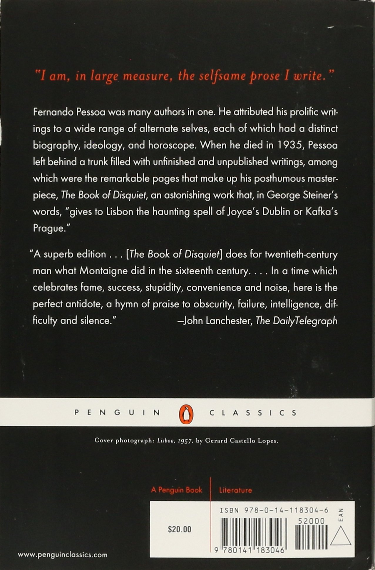 Buy The Book Of Disquiet (penguin Modern Classics) Book Online At Low  Prices In India  The Book Of Disquiet (penguin Modern Classics) Reviews &  Ratings