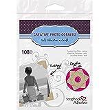 3L Scrapbook Adhesives Self-Adhesive Creative Paper Photo Corners, Kraft, 108-Pack
