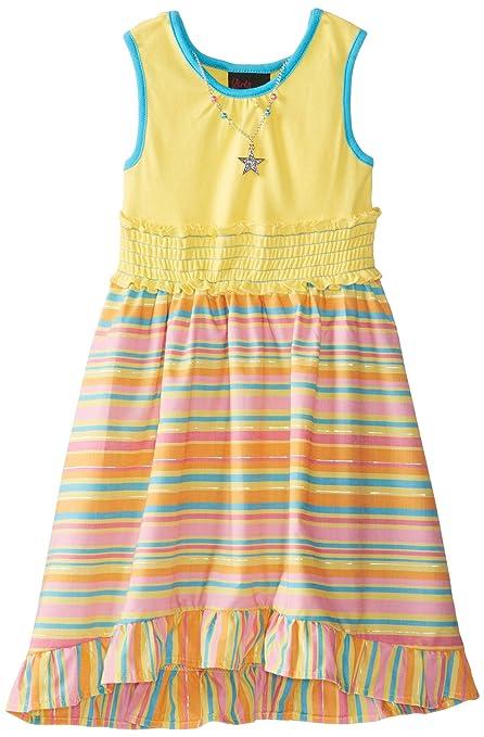 Girls-Rule-Little-Girls-High-Low-Stripe-Print-Dress