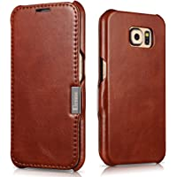 Benuo Vintage Classic Series Samsung Galaxy S6 Folio Cover with Magnetic Closure (Multiple Color)