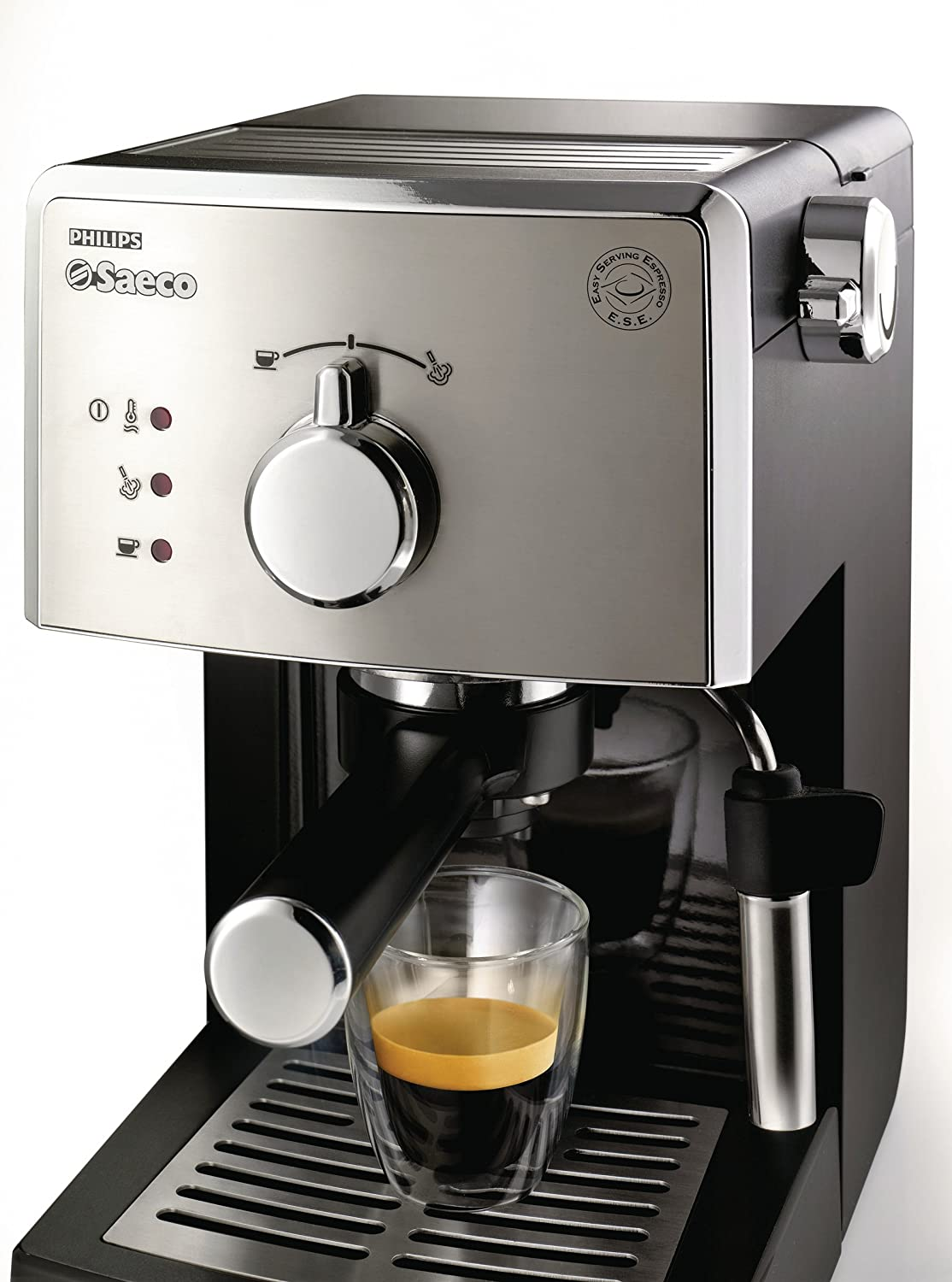Electronic Saeco Coffee Machine Manual buy philips saeco poemia hd8325 1 litre manual espresso machine online at low prices in india amazon in