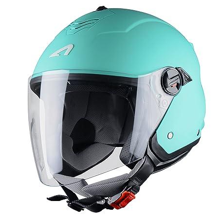 Astone Helmets MINIMS-MINTS Casque Jet Mini Jet S Mint Taille S