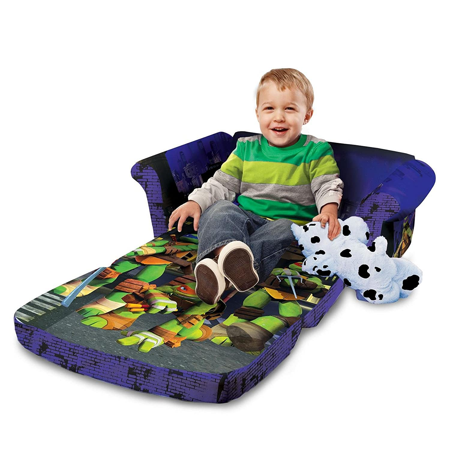 Marshmallow Ninja Turtles Flip Open Sofa