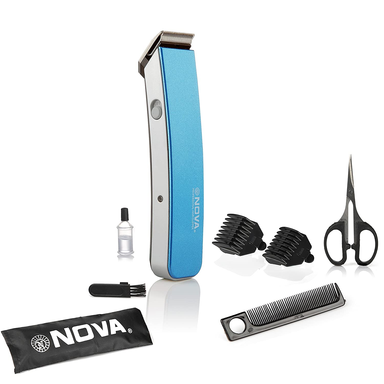 Deals on Nova NHT 1047 Pro Skin Advance Trimmer (Blue)