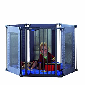 Lindam Safe and Secure Soft Fabric Playpen       Babyreview and more description