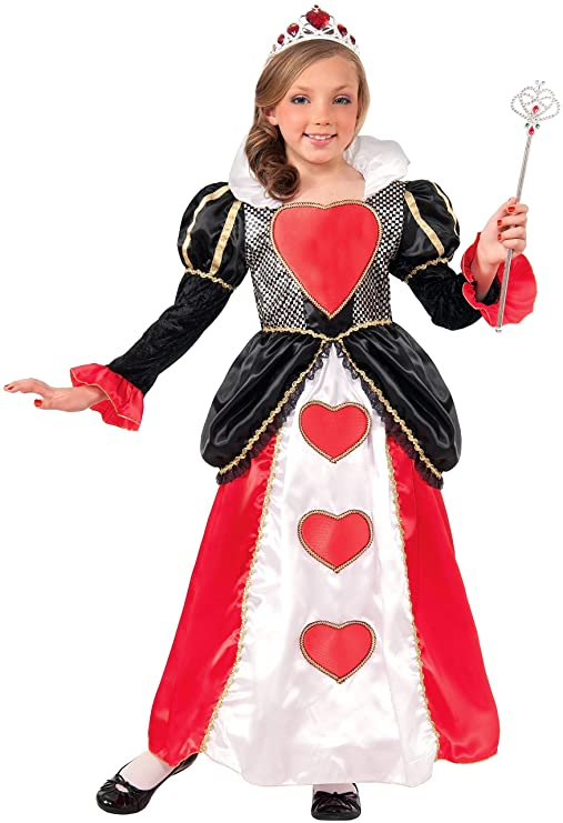 Queen of Hearts Costumes for Girls