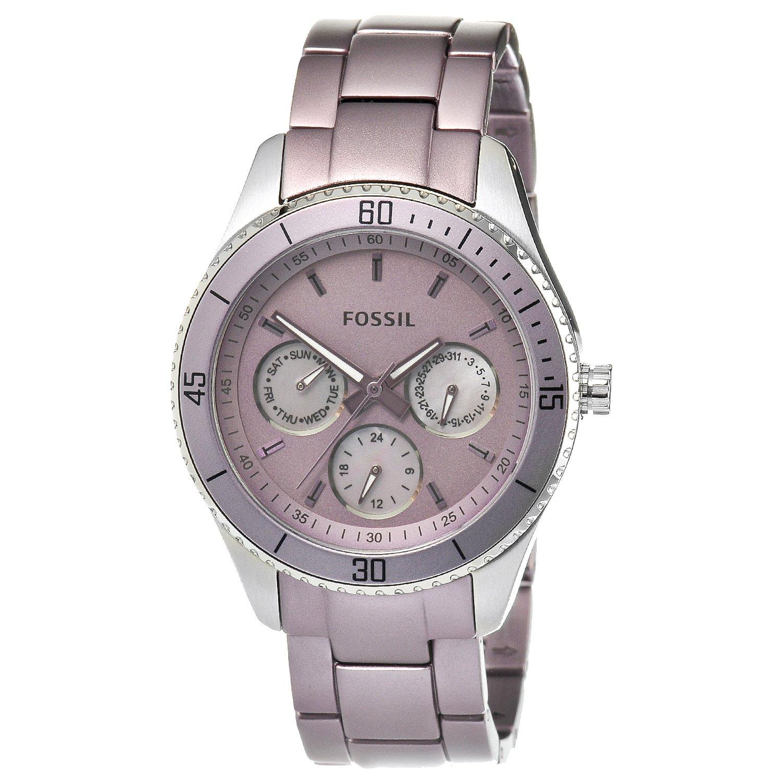 s watches fossil s es3038 stella purple