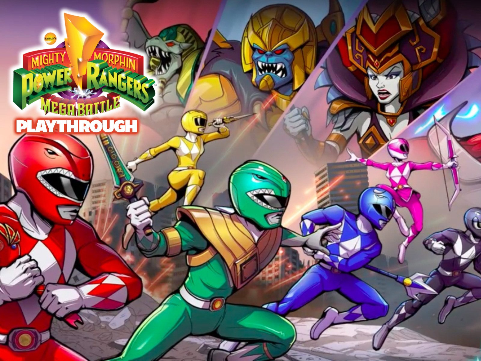 Clip: Power Rangers : Mega Battle Playthrough - Season 1