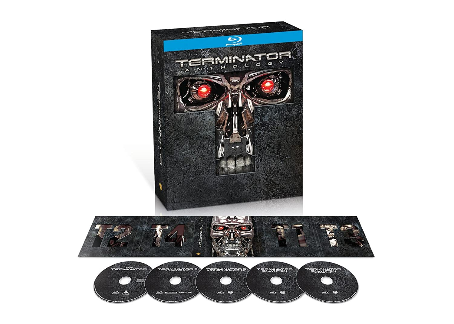 Terminator Anthology 5-Disc Blu-ray Set $17 at Amazon