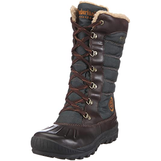 Women's New Style Timberland WoEarthkeepers Mount Holly Tall Lace Duck Boot Sale