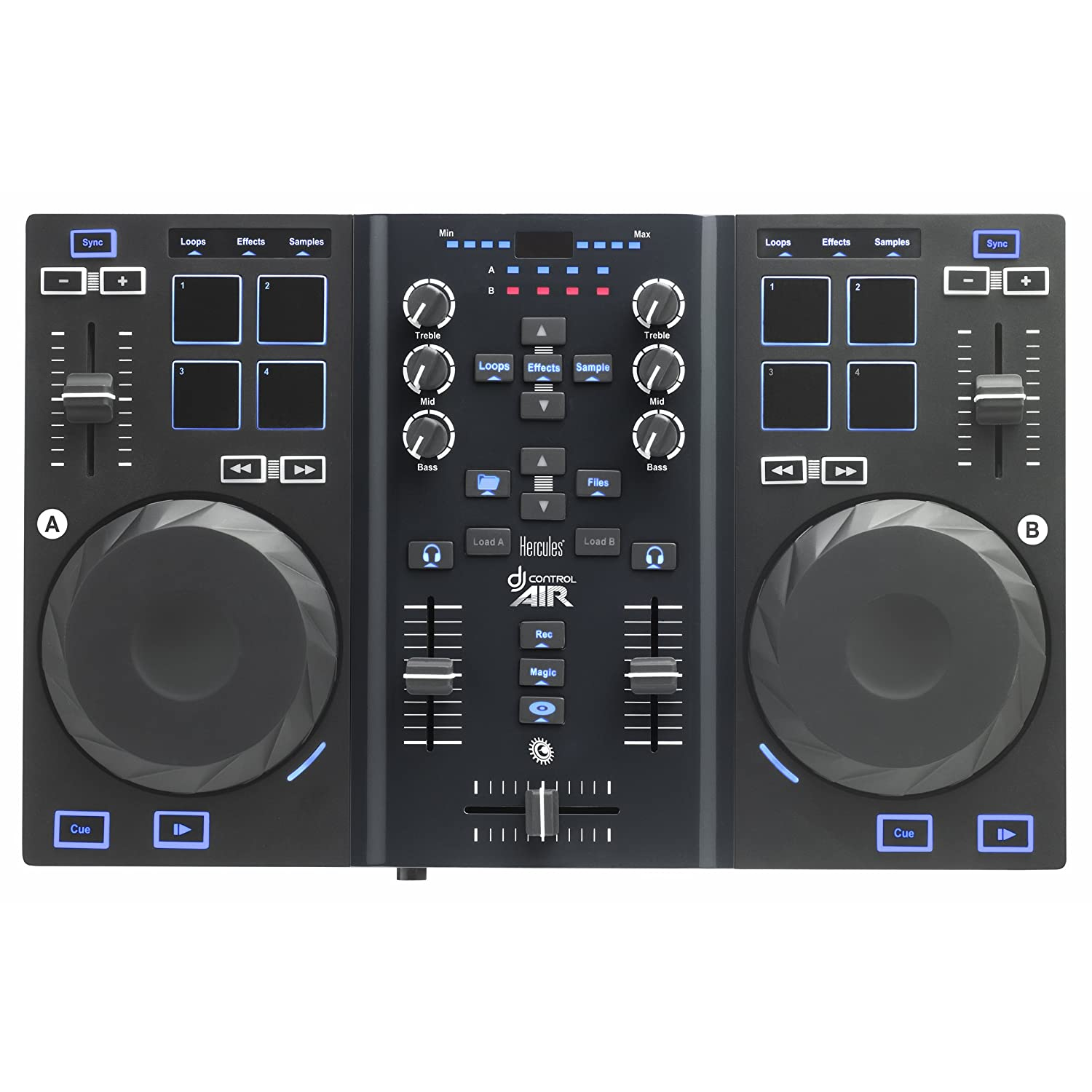 Hercules 4780722 DJ Controller with Touch and Air Controls