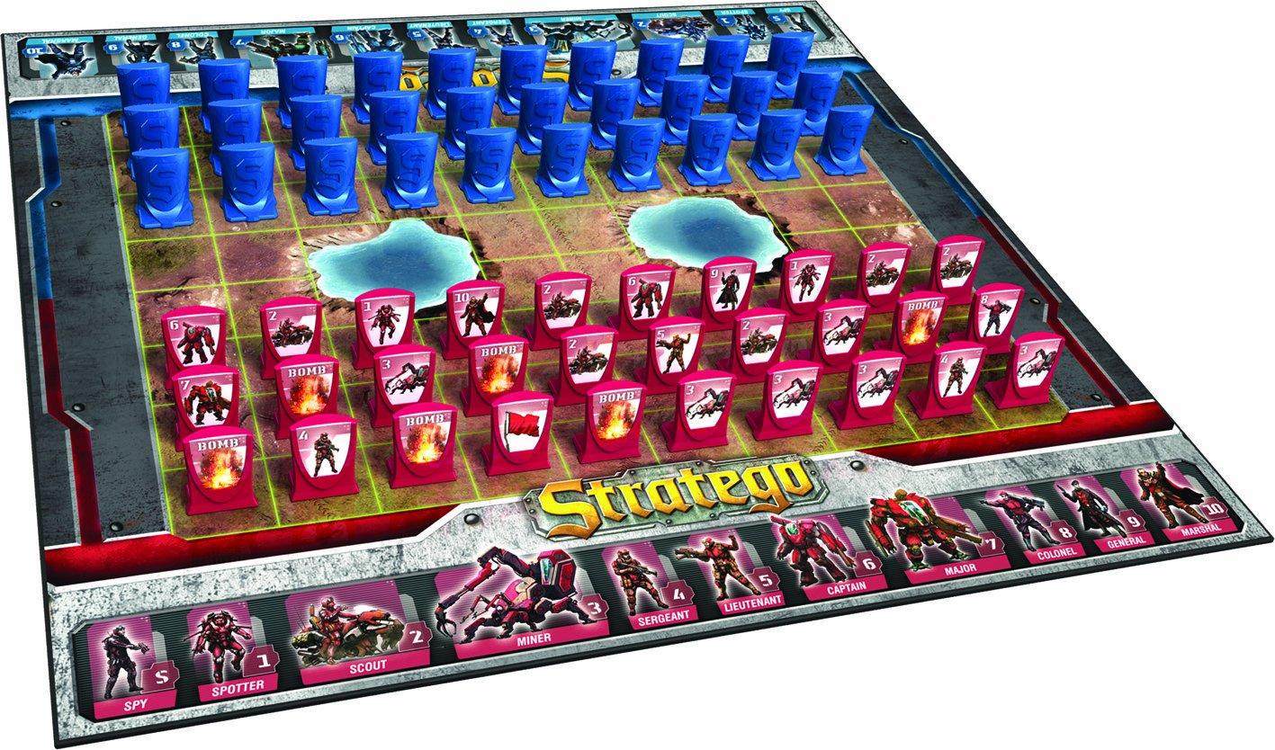 Geländespiel Stratego