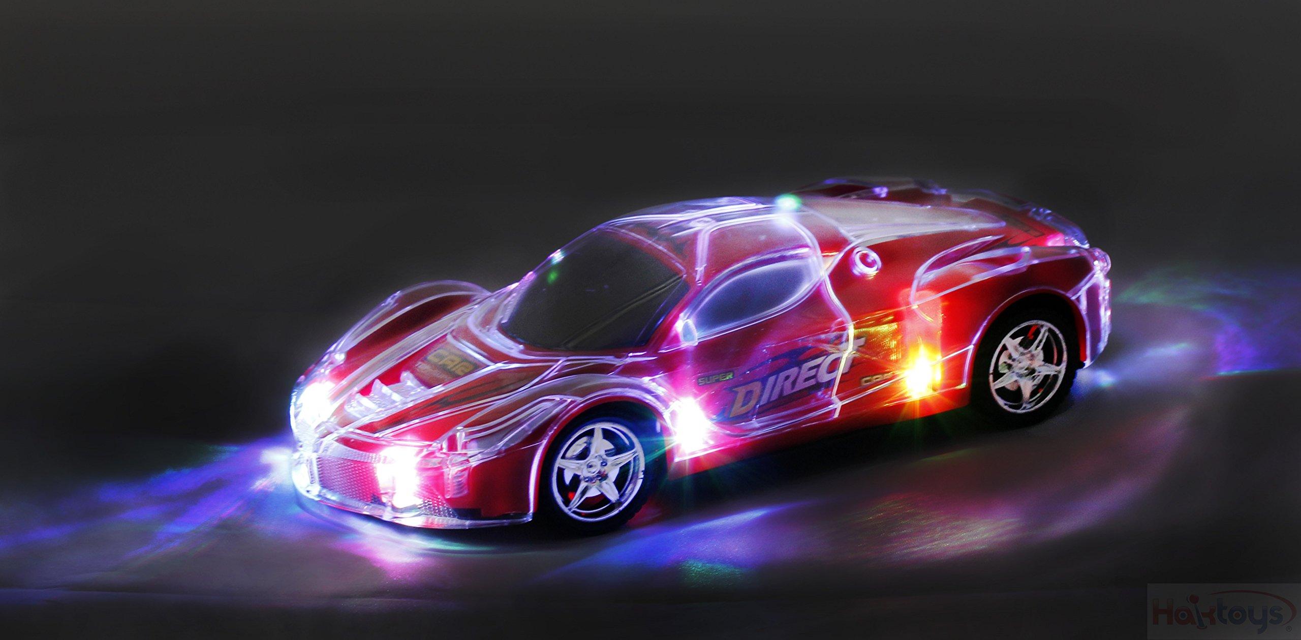 Light Up Racing Car