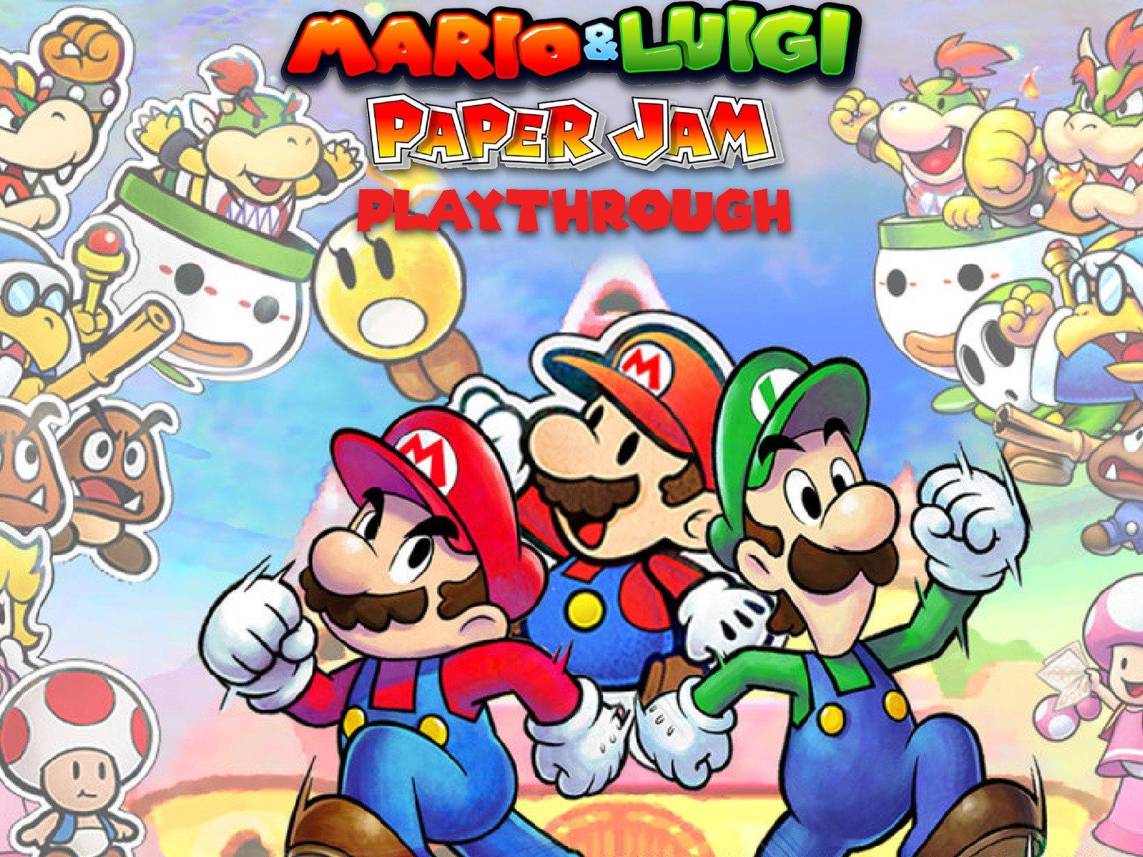 Clip: Mario & Luigi Paper Jam Playthrough - Season 1