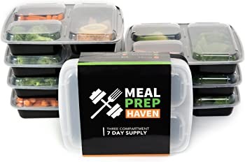 7Pk. Meal Prep Haven Food Containers