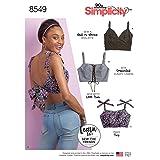 Simplicity Creative Patterns US8549A Sewing Pattern Tops, Vest, JKTS, Coats, A (A (XXS-XS-S-M-L-XL-XXL) (Tamaño: A (XXS-XS-S-M-L-XL-XXL))