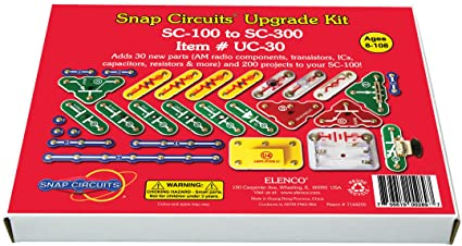 Elenco Snap Circuits UC-30 Upgrade Kit SC-100 to SC-300