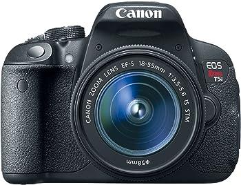 Canon EOS Rebel T5i 18MP DSLR Camera w/18-55mm Lens Bundle