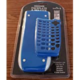 Ti-84 Plus Se Faceplate and Slide Holster (Color: Blue)