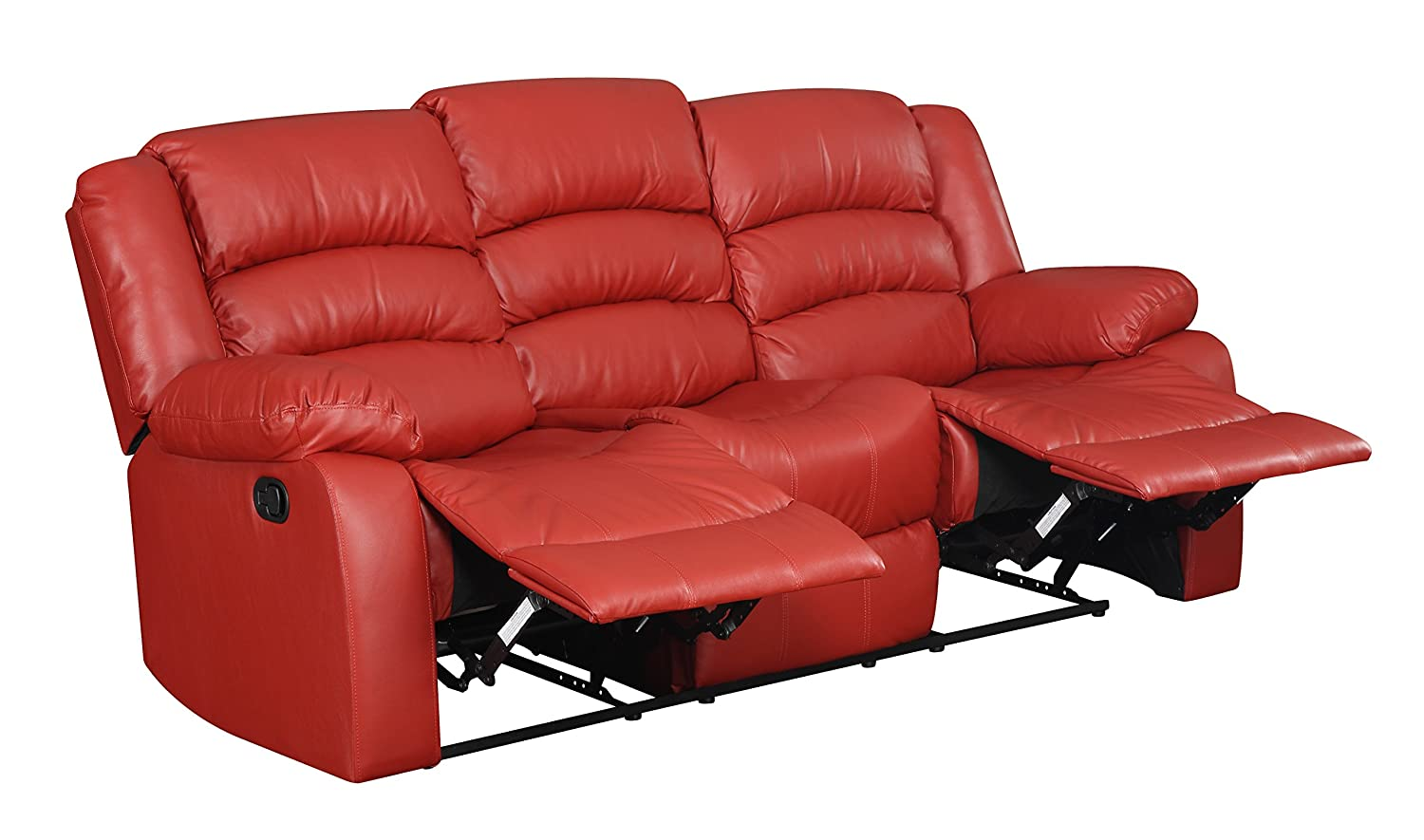 Glory Furniture G949-RS Reclining Sofa - Red