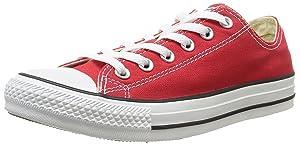 Converse Chuck Taylor All Star Core Ox, Baskets mode mixte adulte - Rouge, 36.5 EU   passe en revue plus d'informations