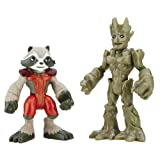 Playskool Heroes Marvel Super Hero Adventures Groot and Rocket Raccoon