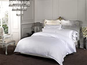 Dorchester 1000 Thread Count 100% Cotton White Duvet cover Hotel quality   Double       Customer reviews and more news