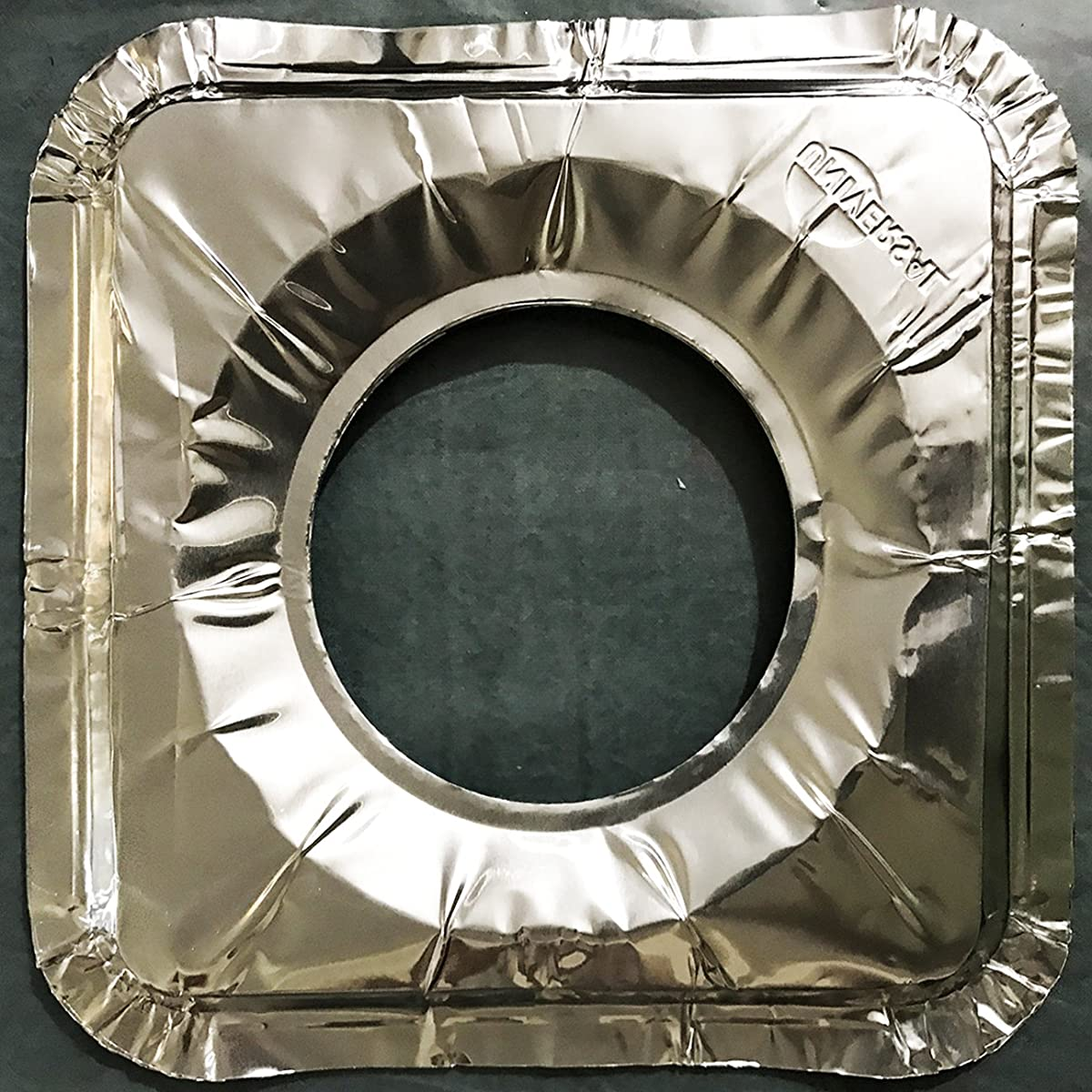 40 Square Universal Aluminum Foil Square Gas Burner Disposable Liners BibCovers WHOLESALE
