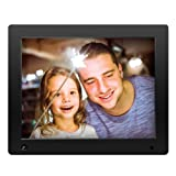 NIX Advance Digital Photo Frame 12 inch X12D. Electronic Photo Frame USB SD/SDHC. Digital Picture Frame with Motion Sensor. Remote Control and 8GB USB Stick Included (Color: Black, Tamaño: 12 inch)