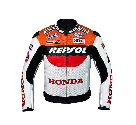 Honda Repsol Team Racing Veste en cuir