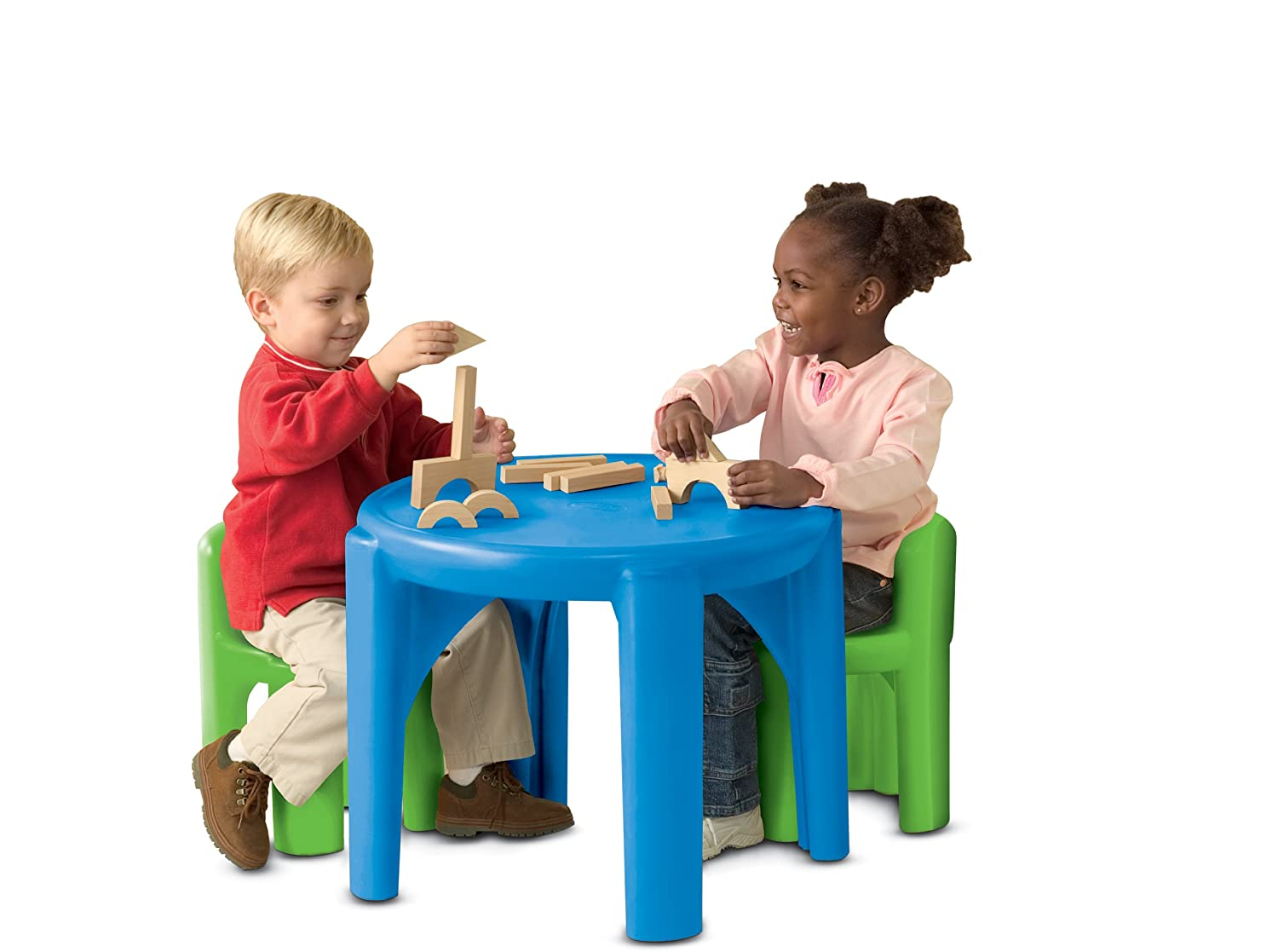 An Image of Little Tikes Bold 'n Bright Table and Chairs Set