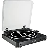 Audio Technica AT-LP60-BT Fully Automatic Wireless Belt-Drive Stereo Turntable - Refurbished