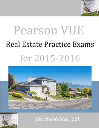 Pearson VUE Real Estate Practice Exams for 2015-2016
