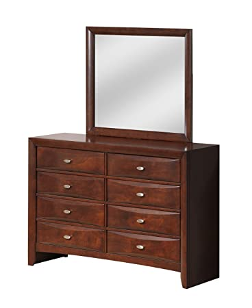 Global Furniture Linda Dresser, New Merlot