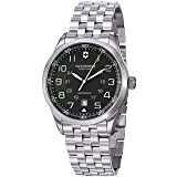 Victorinox Swiss Army Men's 241508 Automatic Stainless Steel Watch (Color: Grey)