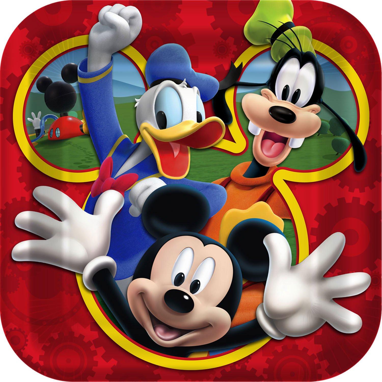 Mickey Mouse Birthday Party Plates Birthday Wikii