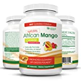 Natural African Mango Cleanse with Raspberry Ketones—Detoxes Body, Eliminates Toxins, Promotes Cleansing Of Excess Pounds —Weight Loss Supplement, 60 Capsules ...