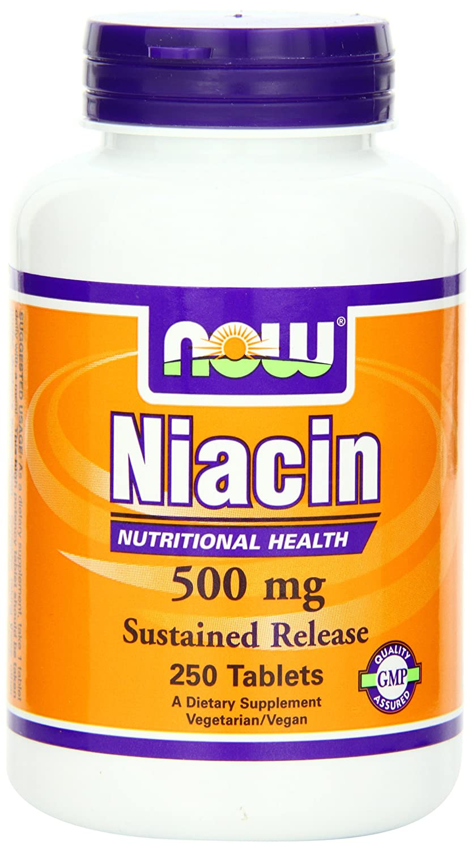 Niacin Food Sources Now Foods Niacin 500mg