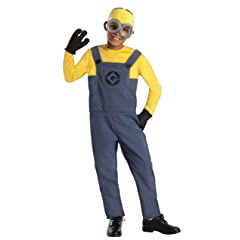 Despicable Me 2 Deluxe Dave Minion Costume Medium