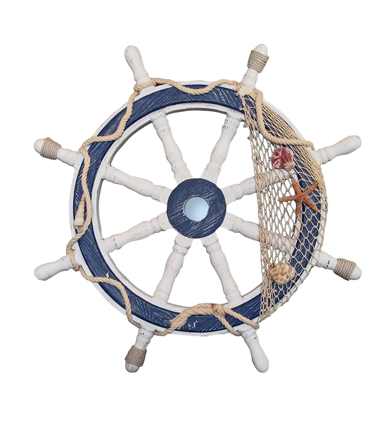 Nautical Wheel Decor: Nautical Decorations