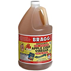 Raw Organic Apple Cider Vinegar by Bragg (1 gallon)
