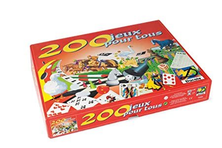 France Cartes - 93460 - Coffret - 200 Jeux Pour Tous