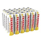Tenergy AA Rechargeable NiCD Battery, 1.2V 1000mAh High Capacity AA Batteries for Solar Lights, Garden Lights, Yard Light 24-Pack (Tamaño: 24 pcs)