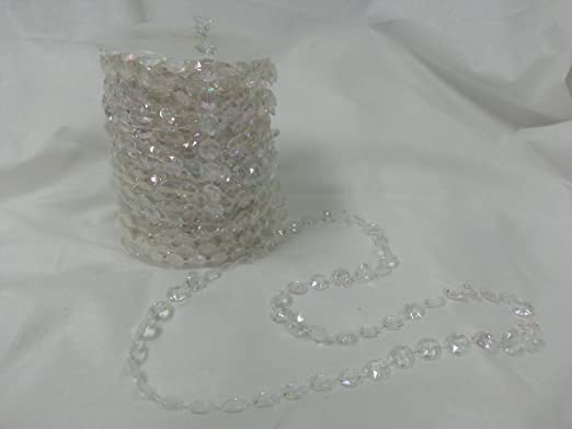 Faux Crystal Beads by the Roll