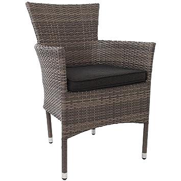 6 st ck poly rattan gartensessel stapelstuhl gartenstuhl rattanstuhl rattansessel rattanst hle. Black Bedroom Furniture Sets. Home Design Ideas