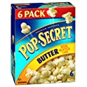 6-Pack Pop-Secret Premium Butter Popcorn