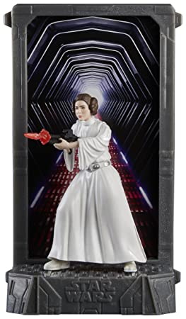 Figurine Star Wars The Black Series : Titanium Series : Princesse Leia Organa