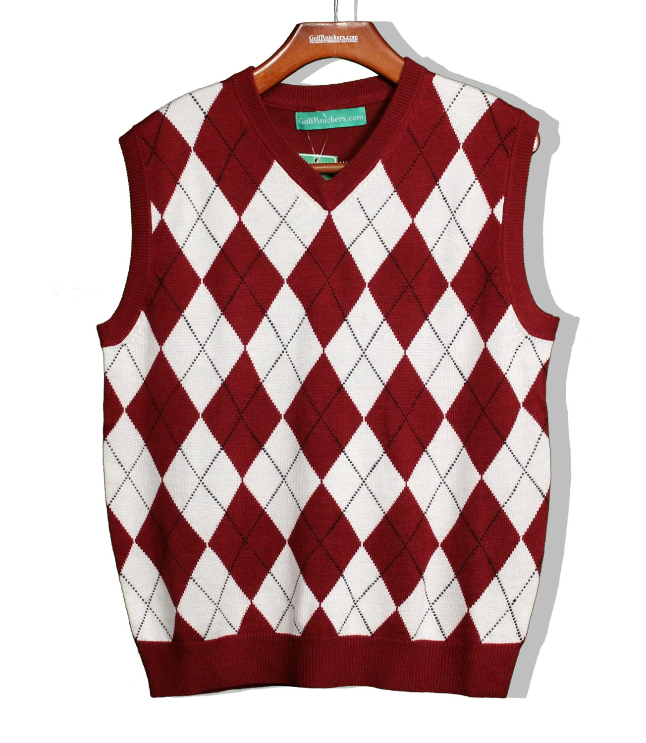 Red Argyle Sweater Vest Argyle Sweater Vest Mens